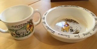 Royal Doulton Winnie the Pooh Christening Set