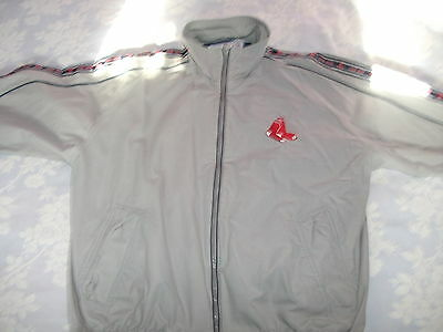 Boston Red Sox Lined Jacket . Adult Xl 52 Inches. Original Majestic Item.vg+