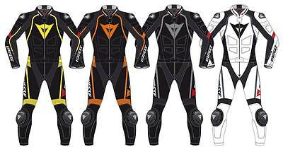 Motorbike Leather Suit Motorcycle Racing Custom Made CE Armoured Any Size/Colour