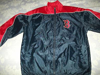 Boston Red Sox Training Jacket. Adult Large -48 Inches. Excellent Shape.