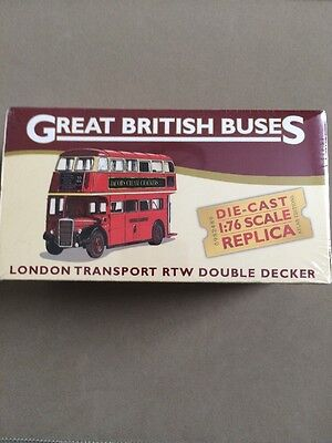 Atlas Editions Great British Buses London Transport Rtw Double Decker