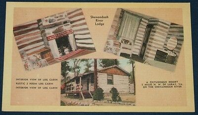 Shenandoah River Lodge, Luray, VA Multi-View Postcard