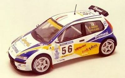 Fiat Punto Kit Car Basso G. Rally Catalunya 2001  Decals 1/43