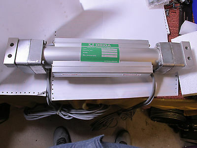 ORIGA P120S-22 69501-87 Rodless Pneumatic Cylinder with Reed Switches N.O.S. !!
