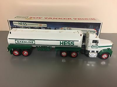 1990 Hess Gasoline Tanker Truck Toy  NIB Mint Condition