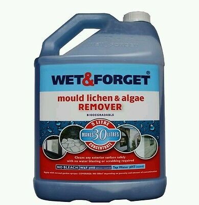 Wet And Forget Mould Algae And Lichen Removal  5L