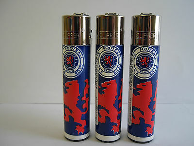 3 Official  Genuine Rangers Football Club  Clipper Lighter Ideal gift