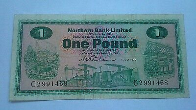 Northern Bank Limited banknote