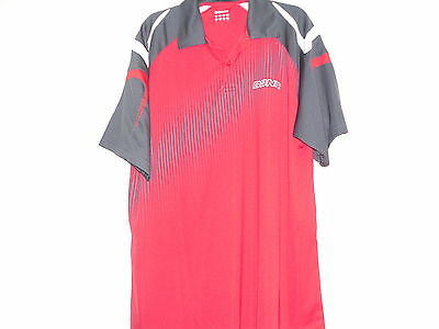 Donic Red Men's table tennis shirt