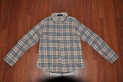 Chemise BURBERRY Taille 8 ans neuf