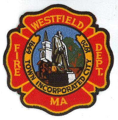Westfield Fire Department Fire Fighters Patch