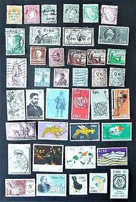 Ireland EIRE Early Old Collection of Stamps #985