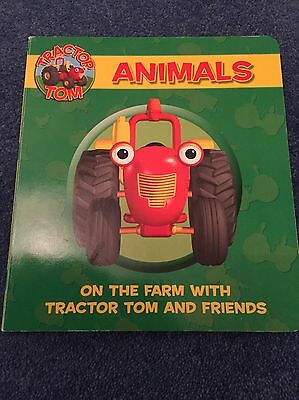 Tractor Tom Board Book - Animals