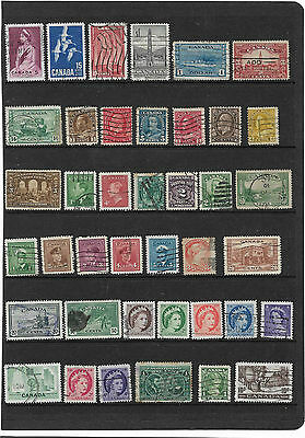 British Commonwealth Stamps Queen Victoria 1800's Onwards From Canada Collection