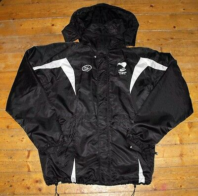 NEW ZEALAND KIWIS RUGBY LEAGUE Training / Waterproof / Supporters Jacket - XL