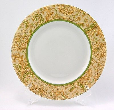 """NEW WATERFORD Fine Bone China Dinner Plate 10.75"""" Pattern """"Park Hill Paisley"""""""