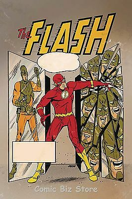 Flash #15 (2017) 1St Printing Variant Cover Dc Universe Rebirth Bagged & Boarded
