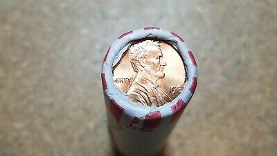 1982 P Large Date Zinc Lincoln Cent Roll   Uncirculated