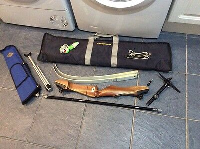 Recurve Archery Trainer Bow - Right Handed - Complete Set Up