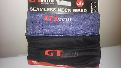 Neckwear 3 pack.- GTMOTO Seamless - New