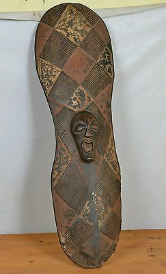African SONGYE SHIELD   from (D R C) Congo.
