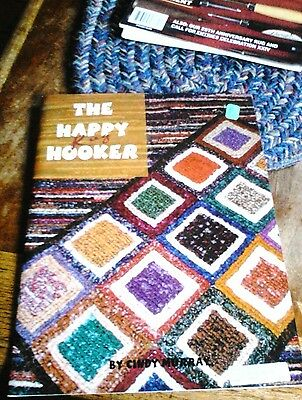 Rug Hooking Book The Happy Rug Hooker by Cindy Murray