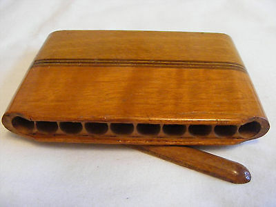 Wood Pocket Cigarette Holder - Perfect Hipster Rollup Accessory!