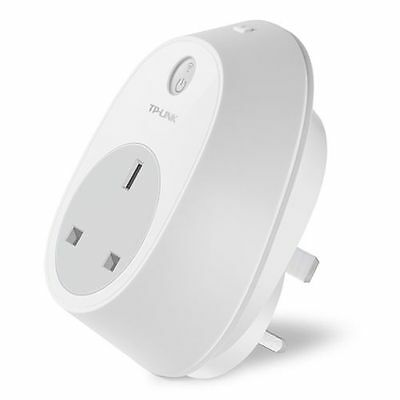 TP-LINK (HS100) Wi-Fi Smart Plug, Remote Access, Scheduling, Away Mode, Amazon E