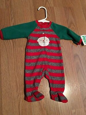 NWT Infant Newborn Baby Boy One-Piece Christmas Outfit Carter's