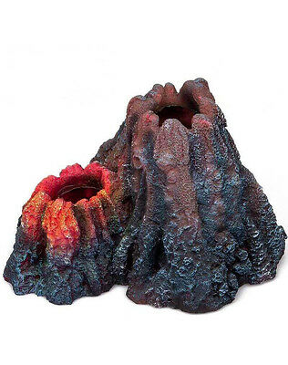 Volcano & Decoration Aquarium Underwater Air Stone Bubbles Fish Tank 4 Colours