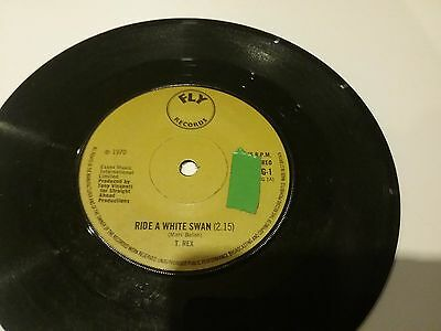 T. Rex ~ Ride A White Swan ** 1970 Fly Bug 1