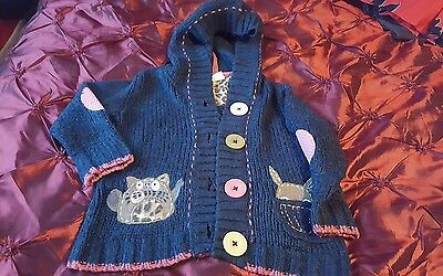 girl next cardigan age 4-5