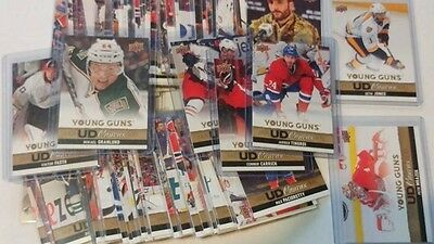 2013-14 Upper Deck Series 1 One UD Canvas 1-60 You Pick UPick From List Lot
