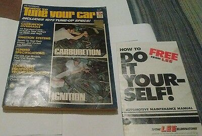 1973 Petersen`s How To Tune Your Car Manual,with Extra Booklet