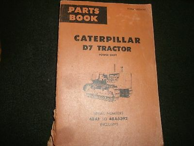 Cat D7 Tractor Power Shift