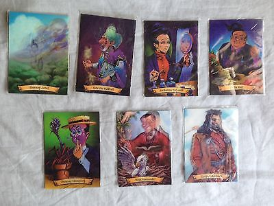 Lot of 7 Harry Potter Chocolate Frog Cards Fantastic Beasts Newt Scamander Card