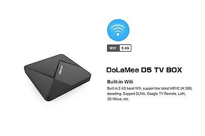 DOLAMEE D5 Android TV Box 2 GB Ram Android Lollipop Kodi Loaded
