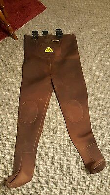 FISH AMERICA Pro Gear Neoprene Chest Waders Brown Size XL
