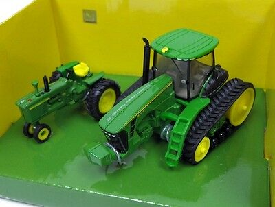 JOHN DEERE TRACTORS 4010 & 8345RT 50 YEARS 1960 to 2010 DIECAST SCALE 1/64 ERTL
