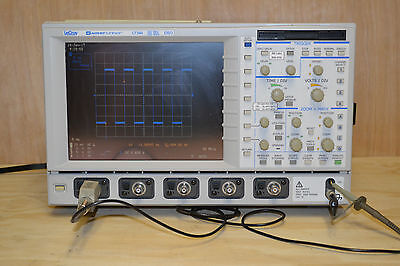 LeCroy LT344 WaveRunner DSO Oscilloscope - 4ch 500MS/s 500MHz