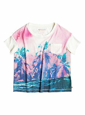 Roxy™ Remind ME Waves For Day - T-Shirt - T-Shirt - Mädchen - Weiss