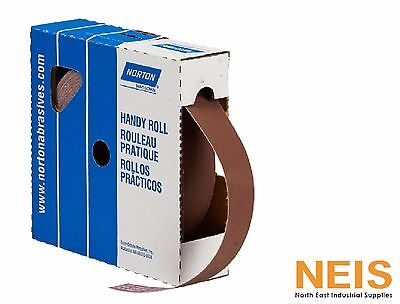 Metal Cloth Roll, Norton Handy Roll, 80# to 320#, 25mm x 50M Emery Paper Rolls