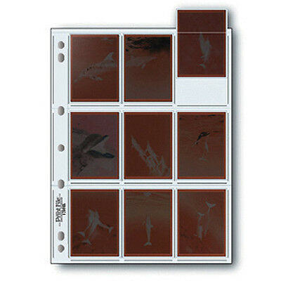 """50x PRINT FILE 120 6x7cm 2.5""""x3.5""""Negative Pages Sleeves Film Archival 120-9HB i"""