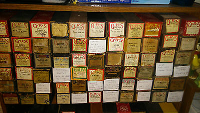 Lot Of 66 Assorted Qrs Vocalstyle Pianostyle International Player Piano Rolls