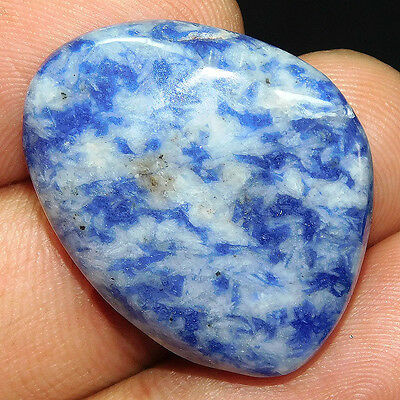 34.45Cts 100%NATURAL GORGEOUS SODALITE FANCY 30X24 LOOSE GEMSTONE UEM430