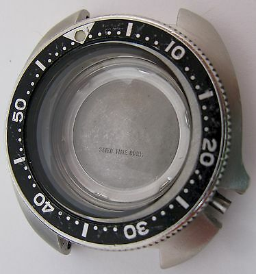 """Seiko 6105 8119 watch case """"water resistant"""" for part ..."""