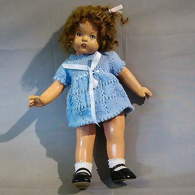 Antique Composition Australian Doll Attributed to Vera Kent