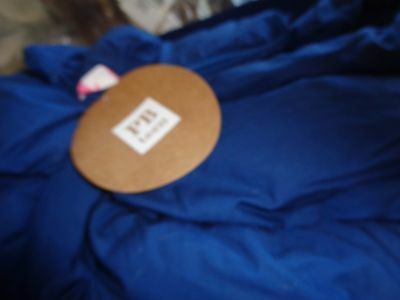 Pottery Barn Teen Cape Cod sleeping bag with seahorse  New