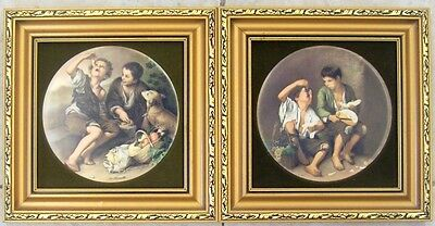 Two genuine Staffordshire hand made wall plaques by Harleigh China Co