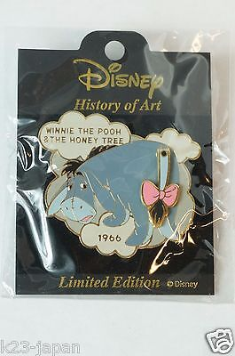 Disney JAPAN History Of Art Pin LE Winnie The Pooh & The Honey Tree 1966 Eeyore
